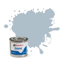 HUMBROL 127 Us Ghost Grey Satin Enamel 14ml Model Kit Paint