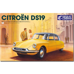 EBBRO 25005 Citroen DS19 1:24 Car Model Kit Tamiya E25005