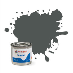 HUMBROL 27 Sea Grey Matt Enamel 14ml Model Kit Paint