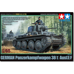 TAMIYA 32583 Panzer 38(t) Ausf E/F 1:48 Military Model Kit