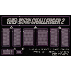 TAMIYA 35277 Challenger 2 Photo-etched part 1:35 Military Model Kit