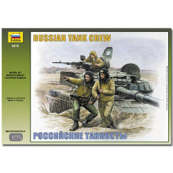 ZVEZDA 3615 Russian Modern Tank Crew Military Model Kit 1:35
