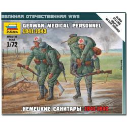 ZVEZDA 6143 German Medical Personnel 1941-3 Model Kit 1:72