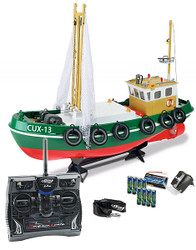 CARSON RC Fishing Boat CUX-13 2.4G 6 Ch C108014 500108014 Ready to Run