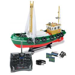 CARSON RC Fishing Boat CUX-13 2.4G 6 Ch C108014 500108014 Ready to Run