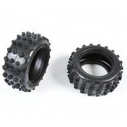 TAMIYA 9805111 Rear Tyres(2pc) for 58047 - RC Car Spares