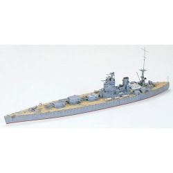 TAMIYA 77502 HMS Rodney Battle Ship 1:700 Ship Model Kit