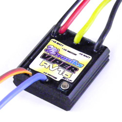 Mtroniks Viper RV15 ESC Waterproof Speed Controller for Electric RC Car 15T