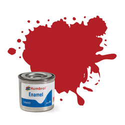 HUMBROL 153 Insignia Red Matt Enamel 14ml Model Kit Paint