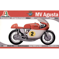 ITALERI MV Augusta 1:9 4630 Bike Model Kit