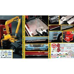 ITALERI Truck Accessoires Set 3854 1:24 Model Kit Trucks