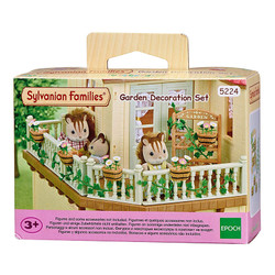 SYLVANIAN Families Garden Decoration Set Dolls Furniture 5224