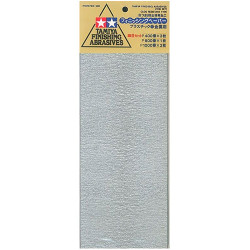 TAMIYA 87010 Finishing Abrasives Fine - Tools / Accessories
