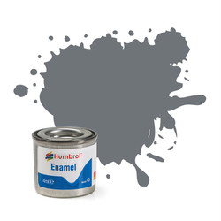 HUMBROL 164 Dark Sea Grey Satin Enamel 14ml Model Kit Paint