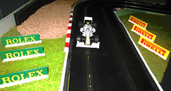 SLOT TRACK SCENICS AB3-RP Advertising Boards Rolex Pirelli - for Scalextric