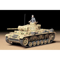 TAMIYA 35215 German Pz. Kpfw. III Ausf. L Tank 1:35 Military Model Kit