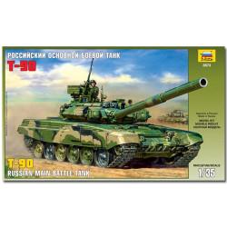 ZVEZDA 3573 T-90 Russian MBT Tank Military Model Kit 1:35