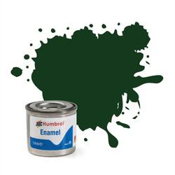 HUMBROL 3 Brunswick Green Gloss Enamel 14ml Model Kit Paint