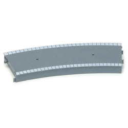HORNBY R462 Large Radius Curved Platform Section (Plastic)