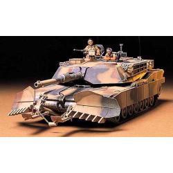 TAMIYA 35158 M1A1 Abrams w/Mine Plough 1:35 Military Model Kit