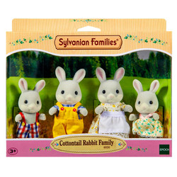 SYLVANIAN Families Cottontail Rabbit Family Figures 4030