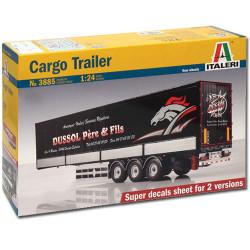 ITALERI Cargo Truck 3885 1:24 Truck Model Kit