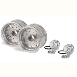 TAMIYA CARSON Parts Aluminum Wheels (2) C907040 500907040
