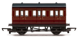 HORNBY Coach R4671 LMS 4 Wheel Coach - Railroad