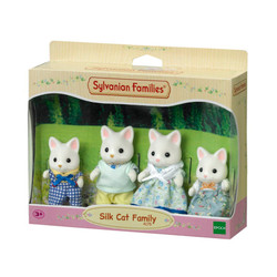 Silk Cat Family - SYLVANIAN Families Figures 4175