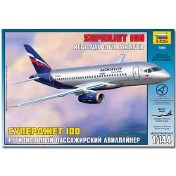 ZVEZDA 7009 Sukhoi Superjet 100 Aircraft Model Kit 1:144
