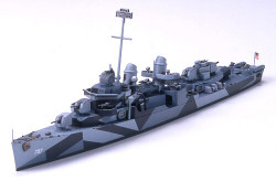TAMIYA 31907 US Destroyer Cushing 1:700 Ship Model Kit