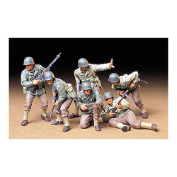 TAMIYA 35192 U.S. Army Assault Infantry 1:35 Military Model Kit