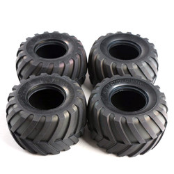 TAMIYA 9805213 Tyre (set of 4) for 58070 58068 58512 - RC Car Spares