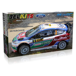 BELKITS Ford Fiesta RS WRC Rally Car Model Kit 1:24 BEL003