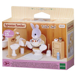 Toilet Set - SYLVANIAN Families Dolls Furniture 5020