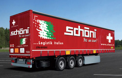ITALERI Curtainside Trailer 3918 1:24 Truck Model Kit