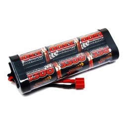 Overlander 3300mah 7.2v Nimh Battery Pack Stick SubC with DEANS plug - 2727
