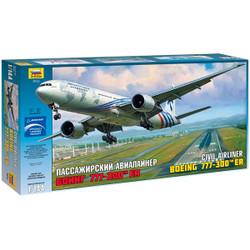 ZVEZDA Boeing 777-300ER 1:144 Aircraft Model Kit 7012