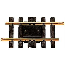 LGB Track Straight Interupter Track (one rail) 150mm - G Gauge 10153