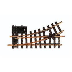 LGB Track Electric Switch Left R1 - G Gauge 12150
