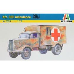 ITALERI 7055 Kfz.305 Ambulance 1:72 Truck Model Kit