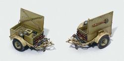 ITALERI SD Anhanger 2x Trailers 6450 1:35 Military Model Kit