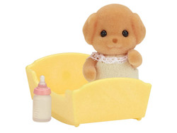 SYLVANIAN Families Toy Poodle Baby Family Figures 5260