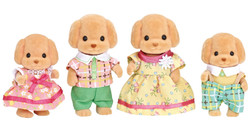 SYLVANIAN Families Toy Poodle Family Figures 5259