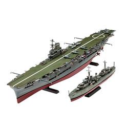 REVELL HMS Ark Royal & Tribal Class Destroyer 1:720 Ship Model Kit 05149