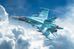 ITALERI Sukhoi SU-34 Fullback 1379 1:72 Aircraft Model Kit