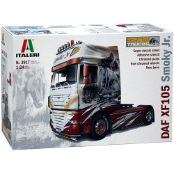 ITALERI 3917 DAF XF105 1:24 Truck Model Kit