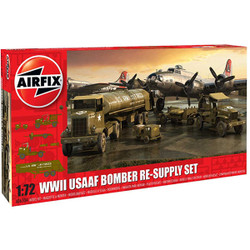 AIRFIX A06304 WWII USAAF 8th Air Force Bomber Resupply Set 1:72 Model Kit