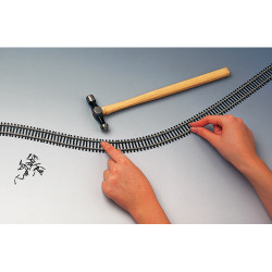 HORNBY Track R621 8x Flexible Track 970mm