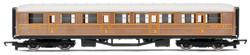 HORNBY Coach R4332 LNER Teak Composite Railroad